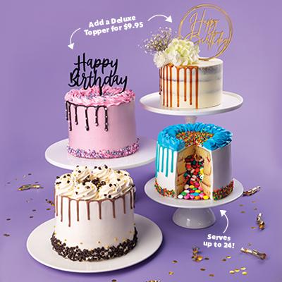 NEW Deluxe Cakes