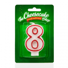 NUMBER 8 CANDLE