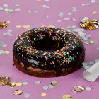 NUT FREE & EGGLESS CHOC DONUT CAKE