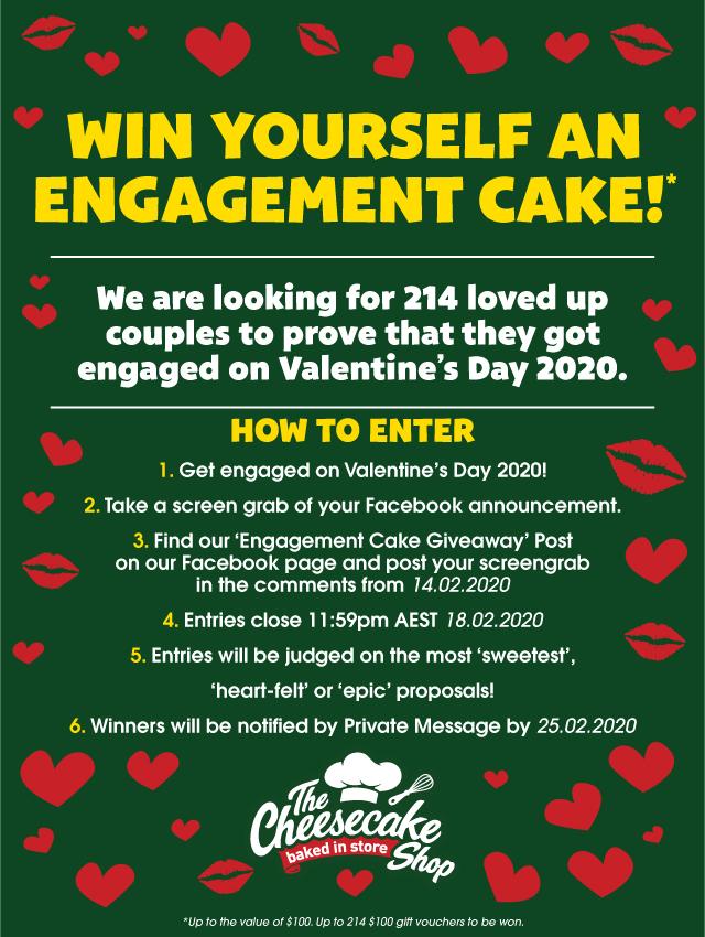 Valentine's Day 2020 Promotion